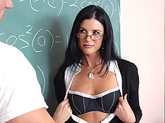 Hairy Vids: India Summer & Johnny Sins as Sexy Teacher