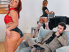 Bouncing Boobs, Brazzers Video The Finest Imported German Ass