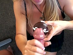 Busty Housewives, Orally Obsessed Wifey in Cupcake XXX