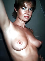 Hard Nipples, Antique Woman
