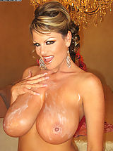 Nipples Pics: Kelly Plays with her big natural 34FF boobs and bangs her wet pussy.