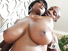 Black Vids: Chicks tits flap as she gets it doggy!