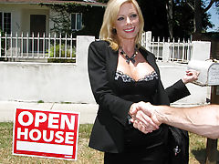 Milf Vids: Real Estate Agent MILF whore gets pounded hard at open house!