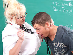 Office Vids: Kayla Kleevage & Chris Johnson as Sexy Teacher