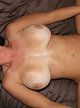 little tits, Kelly Madison and Ryan fuck Lucky Benton while she's doing the splits.