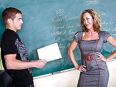 Office Vids: Brandi Love & Chris Johnson as Sexy Teacher