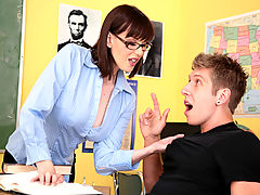 Tina Tyler & Danny Wylde as Sexy Teacher