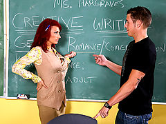 nice jugs, Nikki Sinn & Chris Johnson as Sexy Teacher