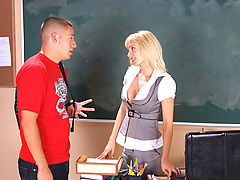 Office Vids: Holly Sampson & David Loso as Sexy Teacher