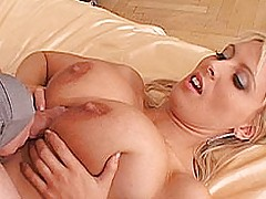 Young Busty Movies, Big breasted blond tit fucked and jizzed by a stud