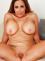 Sienna_lopez - Busty mommy spreads her cock hungry pussy wide open and teases her clit