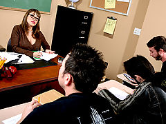 Bigtits Officesex, Ava Devine & Jordan Ash as Sexy Teacher