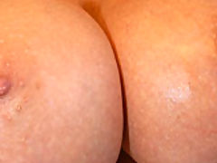 nice jugs, A stranger was in Kelly's backyard, he had a big cock that she had to devour and sit on.