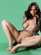 Big Tits Porn, Fancy Conchita exposes her sexy nude body underneath her clothes