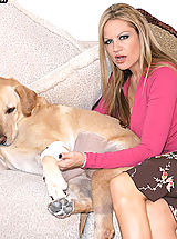 Kelly Madison Pics: Content of Liza Harper - Our vet, Dr. Liza gave us a house call to see how well our dog was improving since his surgery. The doctor had some medicine for him as well as for us. She knew just the amount of pressure to place on my husband's penis to...