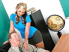 Office Vids: Phoenix Marie & Mark Wood as Sexy Teacher