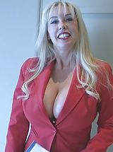 Busty Tits, Cum Crazy Wifey in Realtor XXX