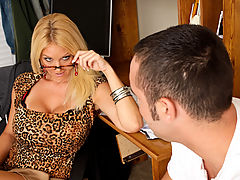 Charlee Chase & Daniel Hunter as Sexy Teacher
