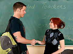 Brittany O'Connell & Chris Johnson as Sexy Teacher