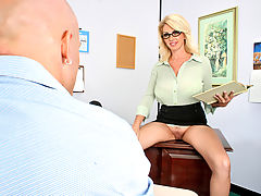 Office Vids: Penny Porsche & Derrick Pierce as Sexy Teacher