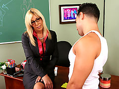 Bigtits Officesex, Misty Vonage & Mikey Butders as Sexy Teacher