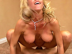 Breasts Movies, Tanya and Ryan fuck each other passionately in his old office.