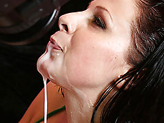 Sexy latina gets pounded by huge black cock