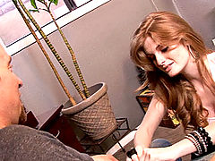 Toys Vids: The sexy red head Faye Reagan is back and is having fun with her sleazy debauchery with the Madison's!