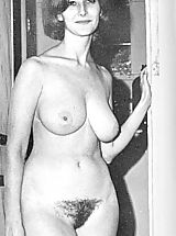 Vintage Pics: We with Friends Shared Our Photos of Our Nude Naturist Wives and Girlfriends - Hot Naked Women Posing For Us All