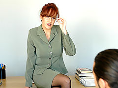Bailey O'dare & Johnny Irons as Sexy Teacher
