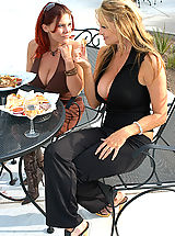 Kelly Madison, Kelly Madison and Rebecca Love0