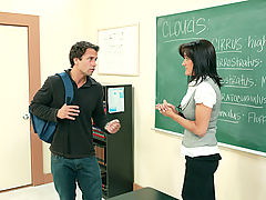 Office Vids: Sami Scott & Alan Stafford as Sexy Teacher