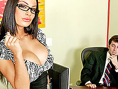 Busty Babes, Brazzers Free A Real Office Whore