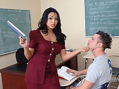 Mika Tan & Jeremy as Sexy Teacher