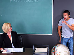 Bigtits Officesex, Camryn Cross & Pike Nelson as Sexy Teacher