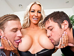 Emma Starr, Johnny Castle & Michael Vegas in Fucking Hot Moms