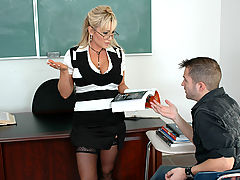 Bigtits Officesex, Milan as Sexy Teacher