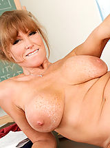 Bouncing Boobs, Darla Crane,My First Sex Teacher,David Loso, Darla Crane, Teacher, Chair, Classroom, Desk, Massive Breasts, Blonde, Blow Job, Dominant, Facial, Fake Tits, Mature, MILFs, Shaved, Tattoos, Titty Fucking,