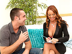 Comics Vids: Janet Mason & Daniel Hunter as Sexy Teacher