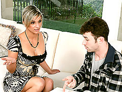 Hard Nipples, Klarisa Leone & James Deen as Sexy Teacher