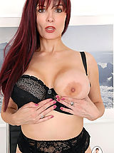 Busty Photo, Busty british office boss arabella