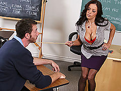 Busty Babes, Brazzers Teach Me How To Fuck!