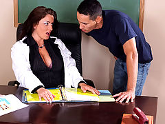 Bigtits Officesex, Piper Austin & Gabriel D'Alessandro as Sexy Teacher