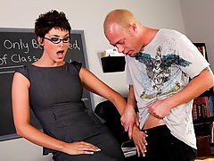 Fetish Vids: Charlie James & Jenner as Sexy Teacher