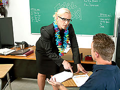 Office Vids: Amber Irons & Scott Stone as Sexy Teacher