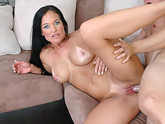 Asian Boobs, Angel Caliente in Fucking Hot Moms