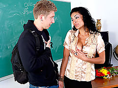 nice juggs, Persia Pele & Danny Wylde as Sexy Teacher